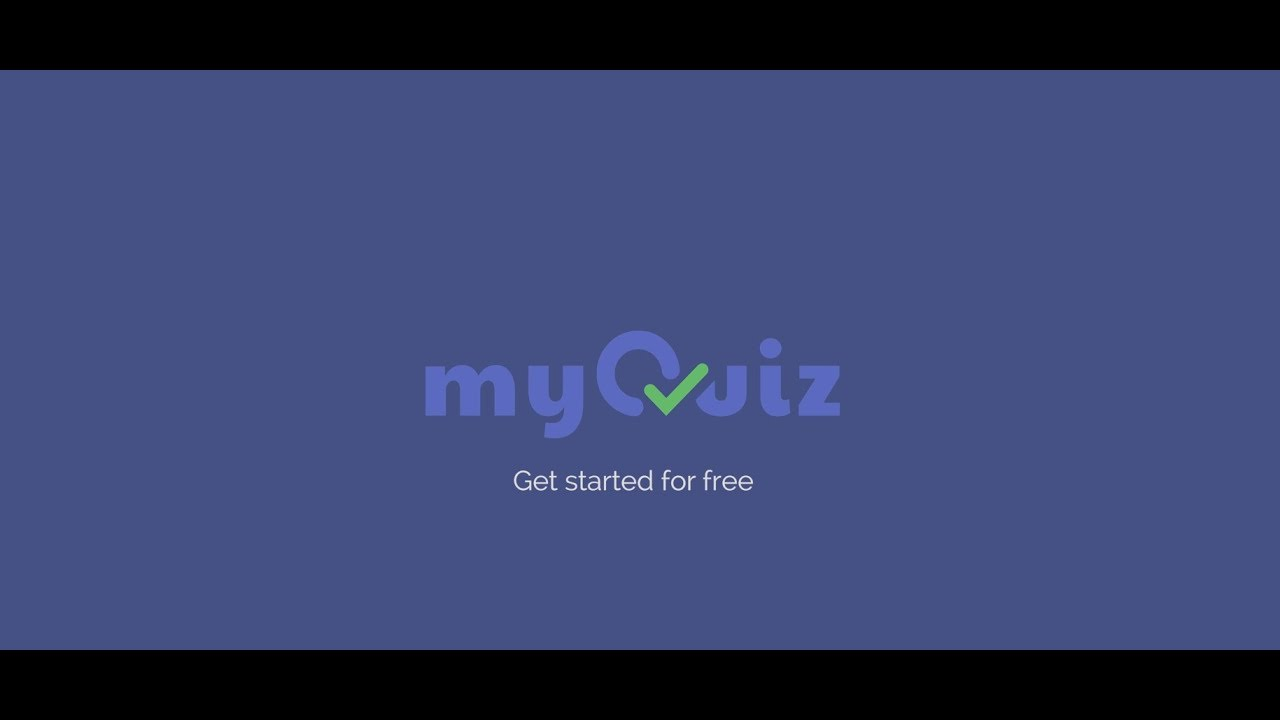 myQuiz: Make a Quiz, Run it in real time, or Play for free!