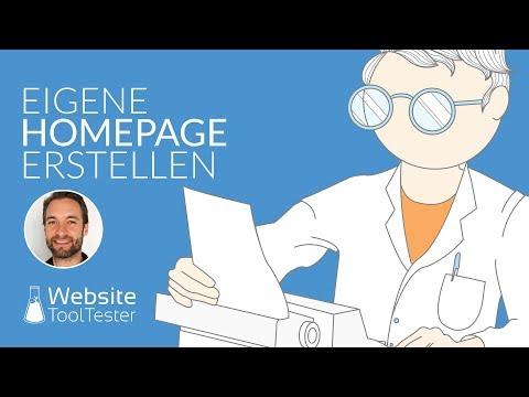 Eigene Homepage: So Erstellt Man Sie (in Weniger Als 5 Minuten!)
