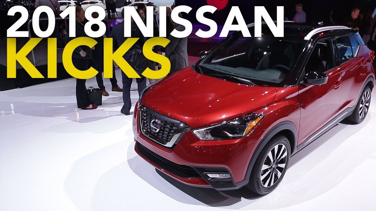 2018 nissan kicks first look 2017 la auto show youtube. Black Bedroom Furniture Sets. Home Design Ideas