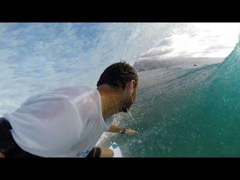 Surfing Tahiti - Steven Pierson