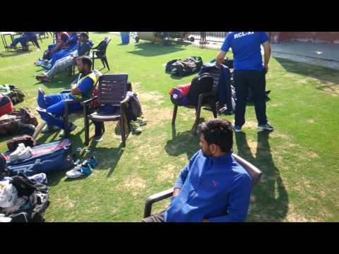 Nepal vs Rajasthan Cricket team Match in Gbu Greater Noida