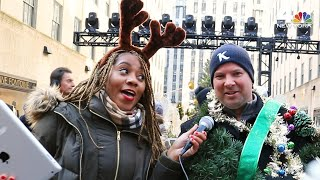 Rockefeller Center Christmas Tree Fans Get Spruced Up | NBC New York
