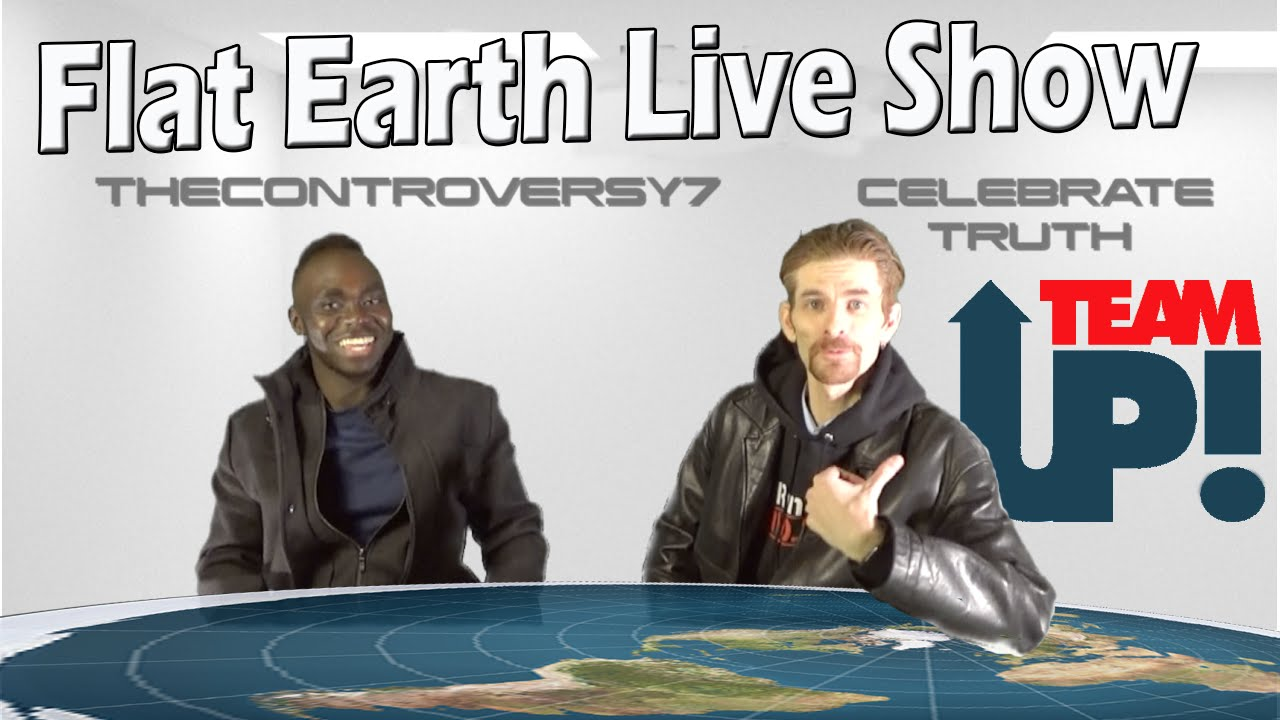 New Christian FLAT EARTH Show: Celebrate Truth & TheControversy7 Team Up Together!
