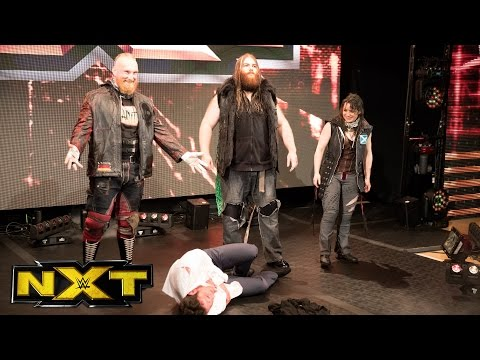 Roderick Strong feels the wrath of SAnitY: WWE NXT, March 8, 2017