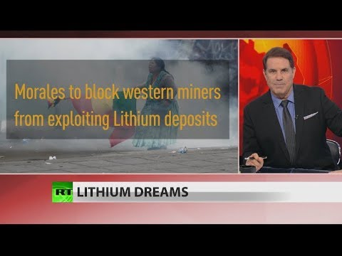 New: China deal & lithium reserves behind Bolivia coup (Full show)