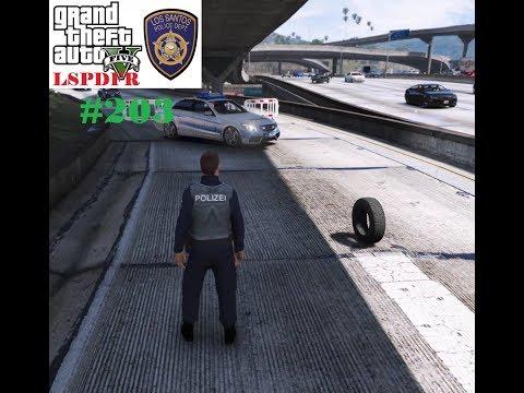 GTA 5 LSPDFR #203 | Reifen Auf Der Fahrbahn (Polizei Mod) | ReinAir