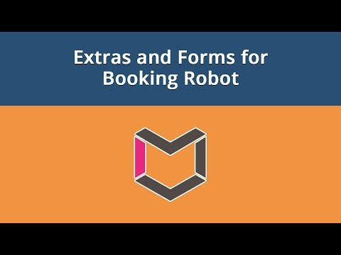 Booking Robot For Joomla, #8: Extras And Forms