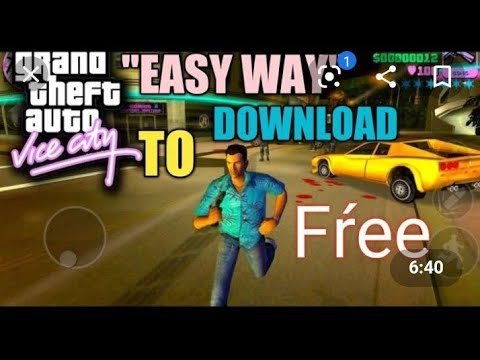 Easy Way To Download GTA Vice City In All Android Phones | GAMERS ONLY |