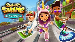 Subway Surfers World Tour Singapore NEW RUNNER Jia and Lion Board - Subway Surfers New Update