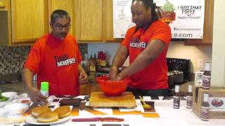How To Cook Ranch Burgers - I Got That Fire! W/ Chef Meesh | Morefire! Ranch Burgers Ep2