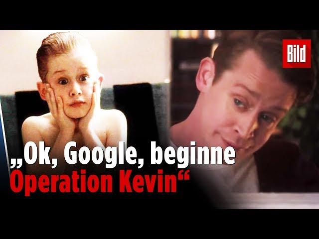 8 Jahre später ist Kevin (wieder) allein Zuhaus   Werbe-Spot mit Macaulay Culkin