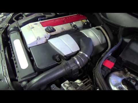 w203 c200 compressor engine sound
