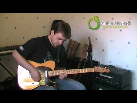 Lyle Watt - Melodic Rock In G (Guitar Playback)