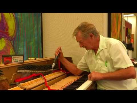 How To Tune A  Wurlitzer Spinet Upright Piano Step By Step Full Version Tutorial