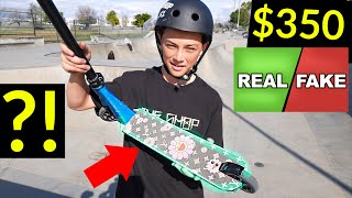 Is his $350 LOUIS VUITTON GRIPTAPE REAL or FAKE ?