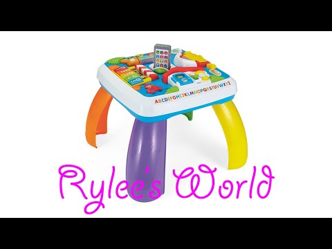 FISHER-PRICE LAUGH AND LEARN AROUND THE TOWN LEARNING TABLE (Rylee's World)