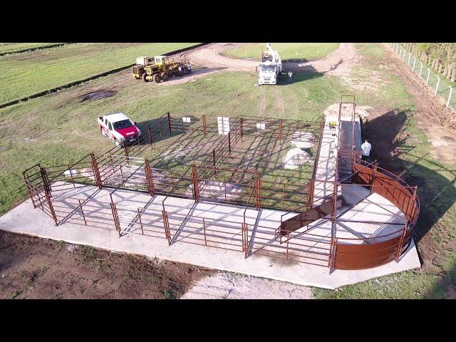 🐄 Instalación para pesaje de hacienda ubicada en Daireaux. Prov. de Bs. As. 🐄