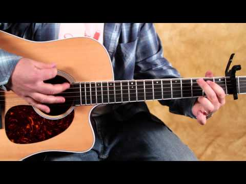How to play Radioactive by Imagine Dragons - easy beginner acoustic guitar