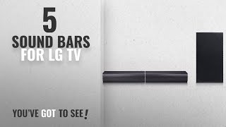 Top 5 Sound Bars For LG Tv [2018]: LG Electronics SJ7 Sound Bar Flex - Dual Speaker System with