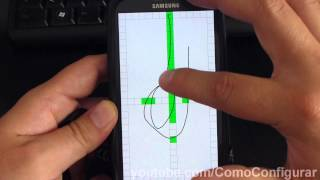 verificar sensor touch screen samsung galaxy s3 español