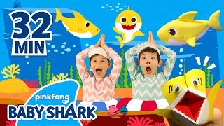 Download lagu Baby Shark Unite! | +Compilation | Sing and Dance with Baby Shark | Baby Shark Official