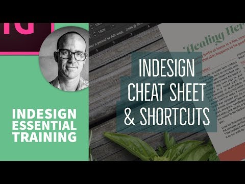 InDesign Cheat Sheet & Shortcuts - InDesign Essential Training [76/76]