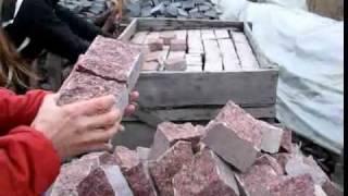 Брусчатка гранитная в Киеве, Житомире(, 2010-01-24T18:19:10.000Z)