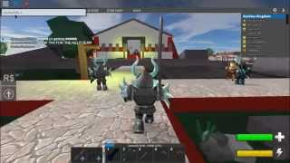 ROBLOX Medival warfare Reforged:testing new sword[EXECUTIONER]