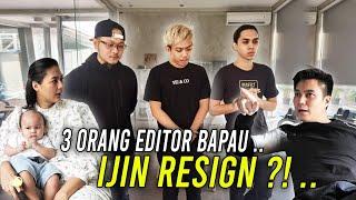 3 Editor  Bapau Resign .. Termasuk Putro Juga Resign ..