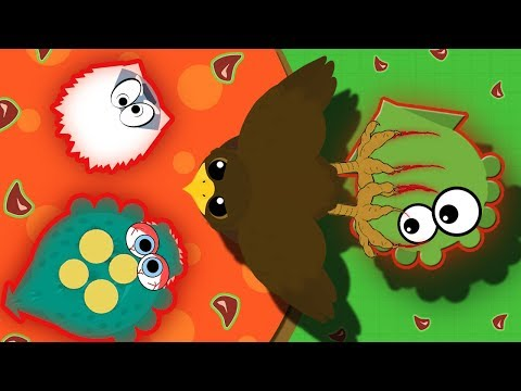 Mope.io NEW GOLDEN EAGLE DROPS ALL HIGH TIER ANIMALS INTO LAVA! | Mope.io Funny Troll