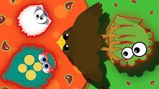 Mope.io NEW RARE GOLDEN EAGLE DROPS ALL HIGH TIER ANIMALS INTO LAVA! | Funny Mope.io Troll