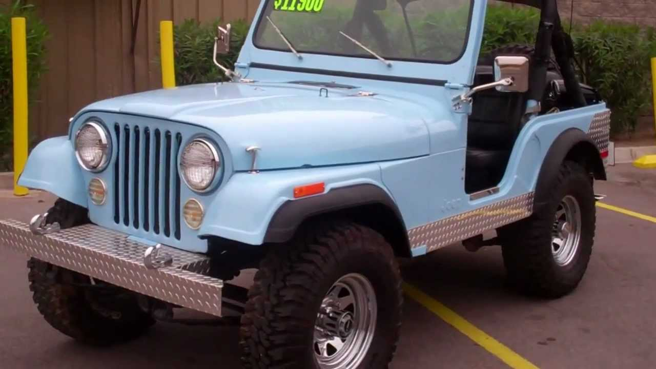 1979 Jeep CJ5 w/ Original 248 Motor - YouTube
