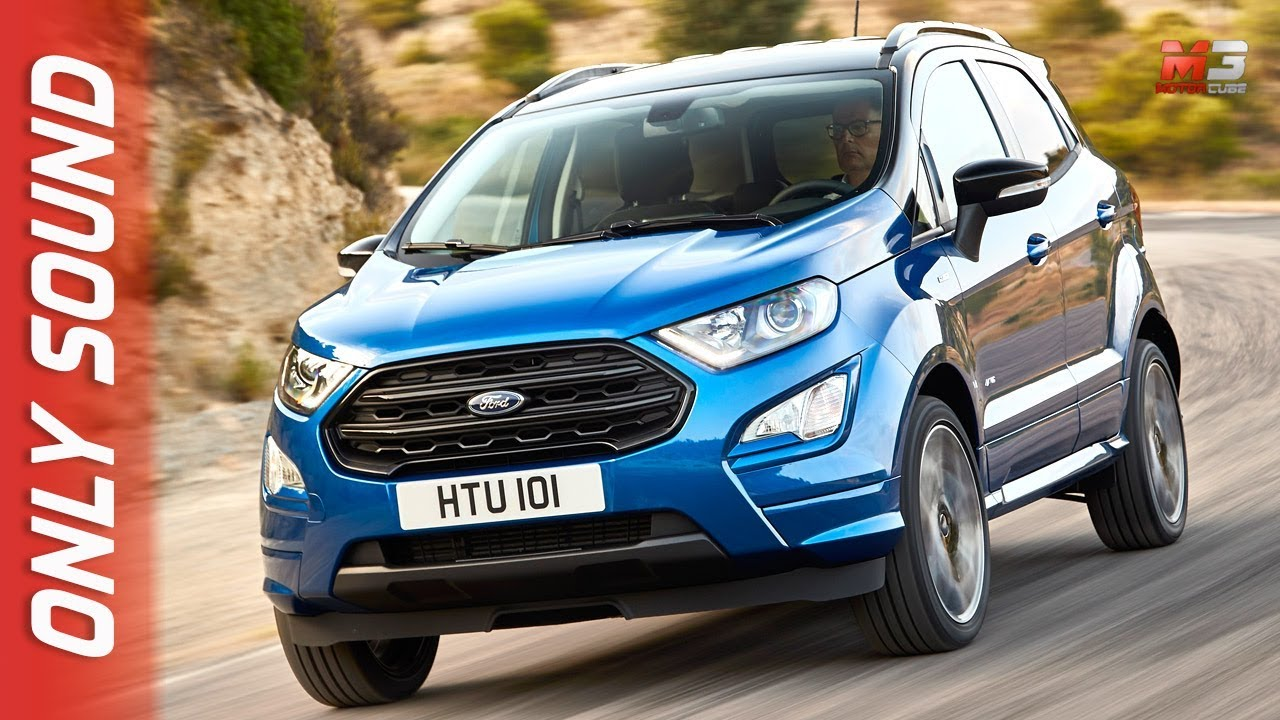 New ford ecosport 2018 first test drive only sound