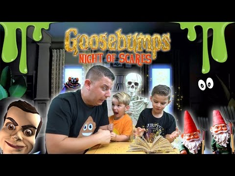 Goosebumps: JUMP SCARE - Night Of Scares GAME PLAY [1] |