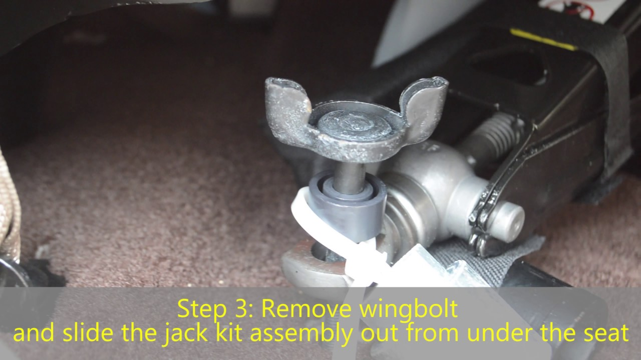 Where to locate your jack kit in your Ram 1500 - YouTube