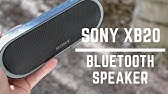 Sony SRS-XB20 Extra Bass Wireless Speaker Review - YouTube 17132d61d45dc