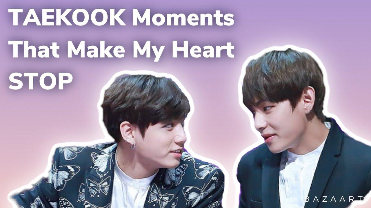 Taekook Moments that make my Heart Stop