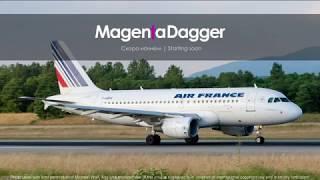 A320   Франкфурт - Ницца   EDDF - LFMN   VOR A + VPT   Vatsim