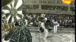 Mocidade (1986) - Lucinha Nobre como Porta-Bandeira Mirim