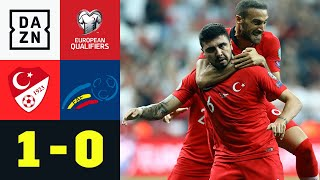 Türkei entgeht dank Ozan Tufan einer Blamage: Türkei - Andorra 1:0 | EM-Quali | DAZN Highlights