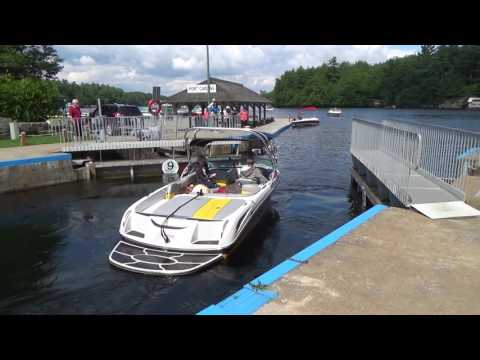 Part 3...Port Carling Ontario the boat locks and some history on the Dippie boat