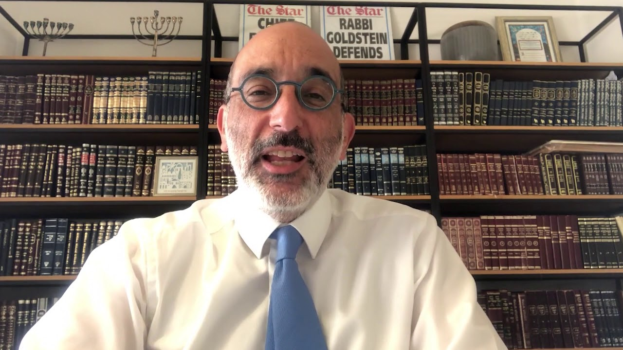 Chief Rabbi Dr. Warren Goldstein endorses convalescent COVID-19 plasma