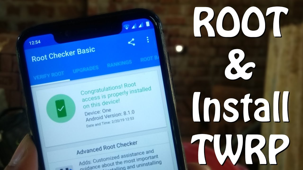 UMIDIGI ONE — Steps To ROOT & Install TWRP!