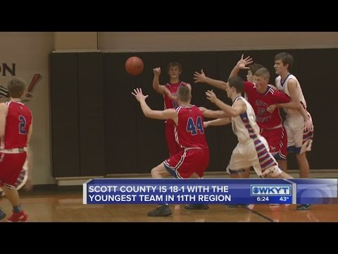 Scott County basketball is the surprise team in the boys' 11th region