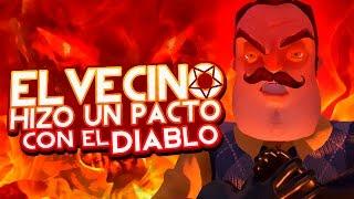 ¿EL VECINO HIZO UN PACTO CON EL DIABLO? - HELLO NEIGHBOR
