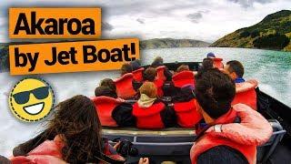 Video blog - Akaroa Jet Boat Tour - Day 219