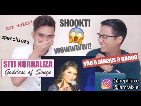 Siti Nurhaliza - Kenang Daku Dalam Doamu [SINGERS REACT]