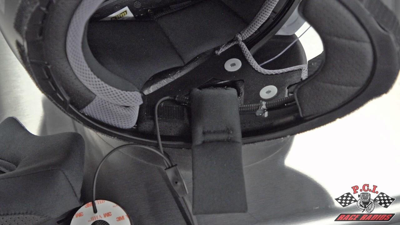 Racing Helmet Microphone Kits