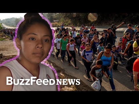 What's It Like To Travel With The Migrant Caravan Seeking Asylum?