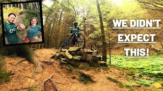 Riding some awesome new MTB trails!   Penmanshiel Wood, Scotland